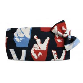 Pop Art Peace Cummerbund and Bow Tie Set