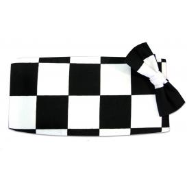 Victory Racing Flag Cummerbund and Bow Tie Set