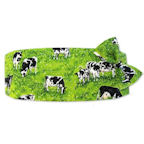 Rolling Hills Cow Cummerbund and Tie Set