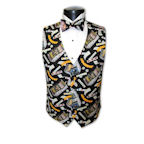 Las Vegas Slots Tuxedo Vest and Bow Tie Set