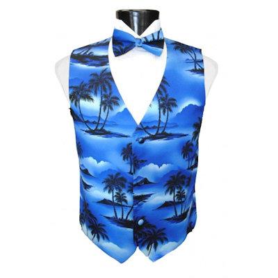 Tradewinds Vest and Bow Tie Set