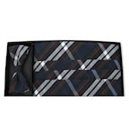 Regent Plaid All Cotton Cummerbund and Bow Tie Set