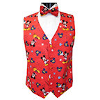 Mickey Mouse Superstar Tuxedo Vest and Bow Tie Set