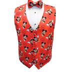 Mickey Mouse Star Tuxedo Vest and Bow Tie Set