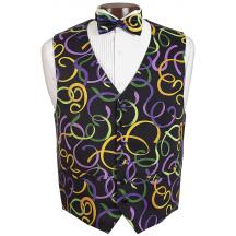 Fat Tuesday Vest and Tie Set