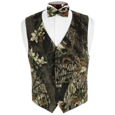 Mossy oak ™ tuxedo vest and bow tie set