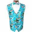 Tropicals Vest and Bow Tie Set