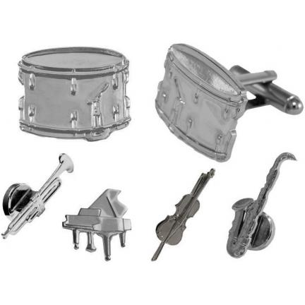 Musical Instruments Cuffllinks and Studs