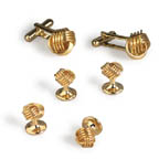 Open Knot Cufflinks and Studs