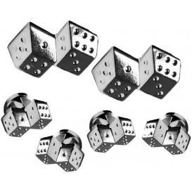Roll the Die Cufflinks and Studs