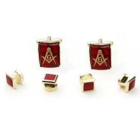 Freemasons Cuffllinks and Studs