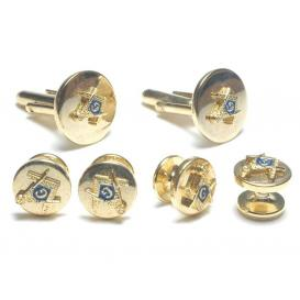 Masonic Cuffllinks and Studs