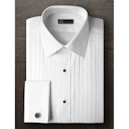 Ike Behar Broadcloth Point Collar Shirt