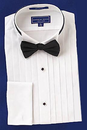 David 39 s formal wear emanuel ungaro josh wing collar for Tuxedo shirt without studs