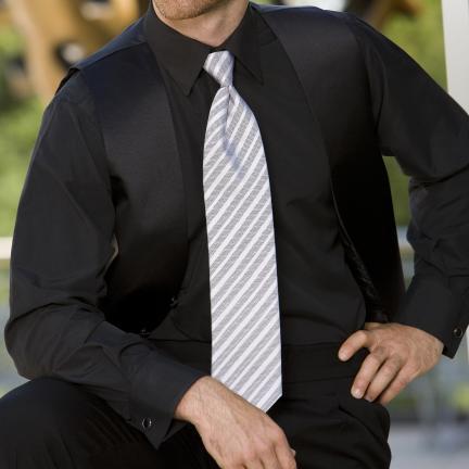 David 39 s formal wear bob black lay down collar tuxedo shirt for Tuxedo shirt without studs