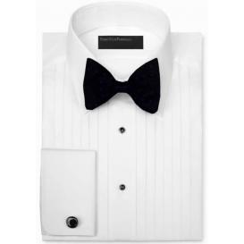 Joseph & Feiss Lay Down Collar Tuxedo Shirt