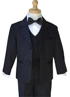 Boys Complete Tuxedo Package
