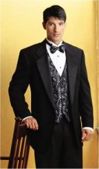 Gently Used Raffinati Single Button Tuxedo