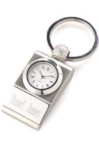 Golf Clock Key Chain