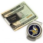 Personalized NFL Emblem Money Clip